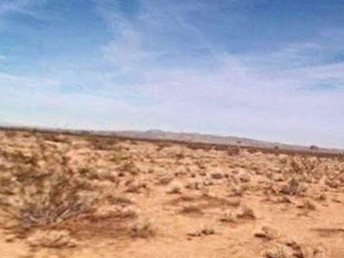 San Bernardino Co, Ca $45,000 Neg : Adelanto : San Bernardino County : California