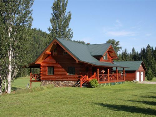Lake Creek Get-A-Way : Troy : Lincoln County : Montana