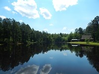 Cabin & 3 Ponds : Twin City : Emanuel County : Georgia