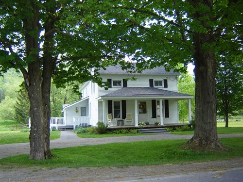 75 Acres Farm 2 Houses Hamilton Ny : Hamilton : Madison County : New York