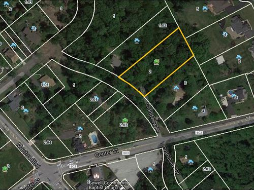 .88 Acre Building Lot : Sewell : Gloucester County : New Jersey
