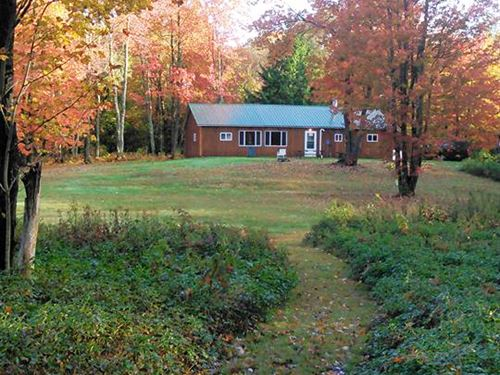Cabin Florence Ny Hunting Fishing : Florence : Oneida County : New York