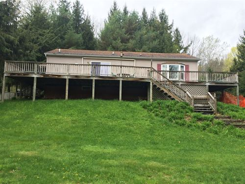 14 Acres House & Garage In Wirt Ny : Wirt : Allegany County : New York