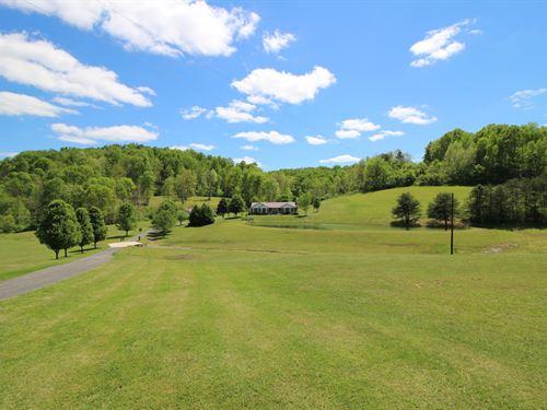 Hall & Davis Rd - 107 Acres : Vinton : Jackson County : Ohio
