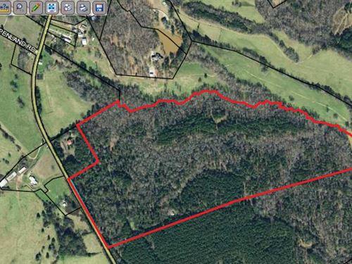100 Acres Conveniently Located : Covington : Walton County : Georgia