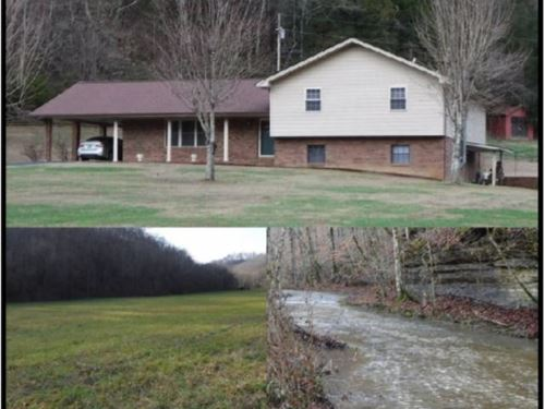 108 Acres & Home In Clay Co. : Celina : Clay County : Tennessee
