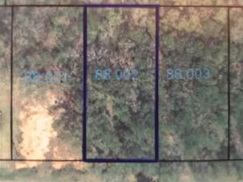 Nice Residential Lot : Ozark : Dale County : Alabama