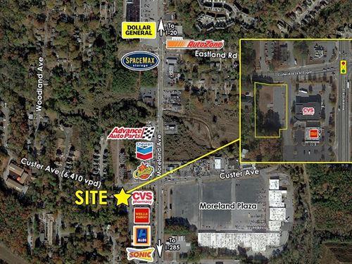 Commercial Acreage For Sale-Atlanta : Atlanta : Fulton County : Georgia