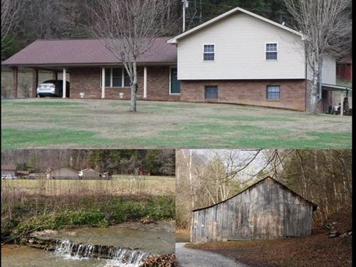 25.74 Acres & Home In Clay County : Celina : Clay County : Tennessee