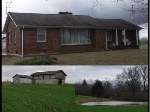 45.85 Acres W/Home In Clay Co. : Red Boiling Springs : Clay County : Tennessee