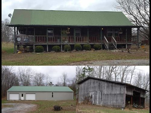 2.92 Acres & Cabin In Jamestown Tn : Jamestown : Fentress County : Tennessee