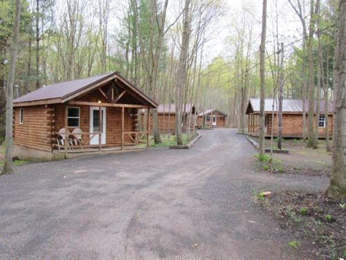 6 Rental Cabins Office Salmon River : Albion : Oswego County : New York