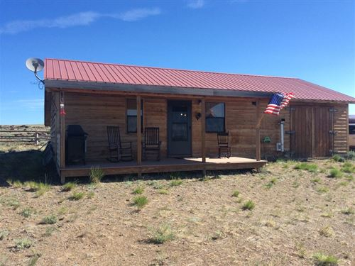 Three Forks Cabin : Atlantic City : Fremont County : Wyoming
