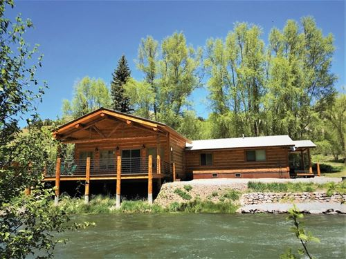 Riverfront With Views : Lake City : Hinsdale County : Colorado