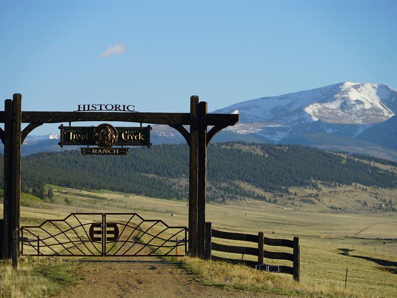 Historic Trout Creek Ranch : Fairplay : Park County : Colorado