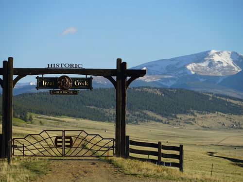Historic Trout Creek Ranch : Fairplay : Park County : Colorado