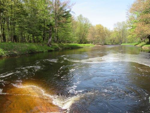12 Acres Independence River In Ny : Greig : Lewis County : New York