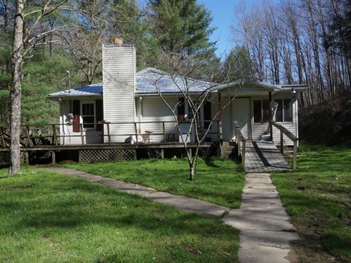 One Story Ranch House W/ Mountains : Maysel : Clay County : West Virginia