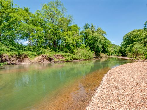 155 Ac On Beautiful S Harpeth River : Kingston Springs : Cheatham County : Tennessee