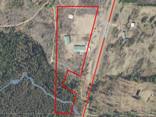 Multi-Building Storage +9.65 Acres : Hazelhurst : Oneida County : Wisconsin