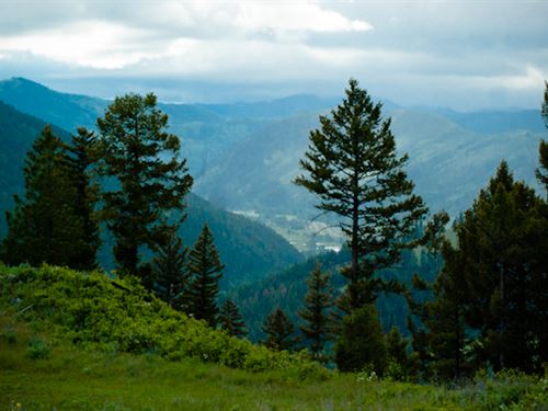 Private Mountain View Acreage - Clo : Missoula : Montana