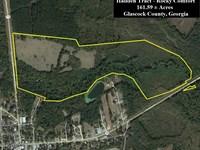 Hadden Tract On Rocky Comfort : Gibson : Glascock County : Georgia