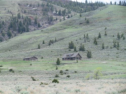 Surrounded By Public Land : Meeteetse : Park County : Wyoming