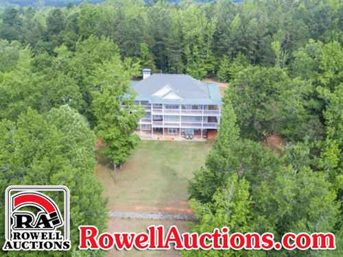 60+/- Acres & Beautiful Home : Sparta : Hancock County : Georgia