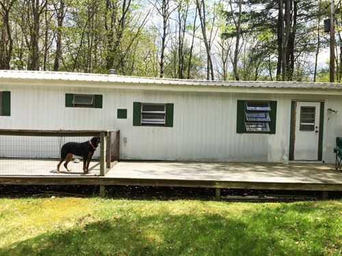 5 Acres Mobile Home Clarksville Ny : Clarksville : Allegany County : New York