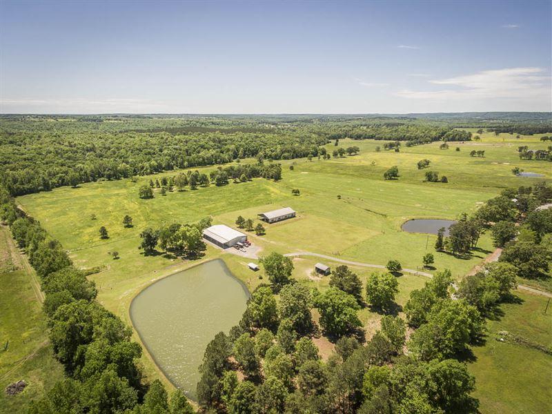 120 Ac Farm/Ranch Greers Ferry Lake : Bee Branch : Van Buren County : Arkansas