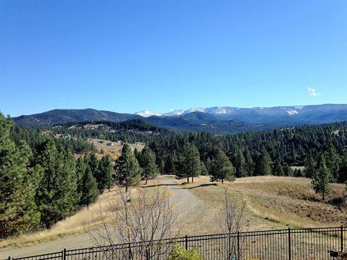 Home W/ Views To Remember & Lan : Helena : Jefferson County : Montana