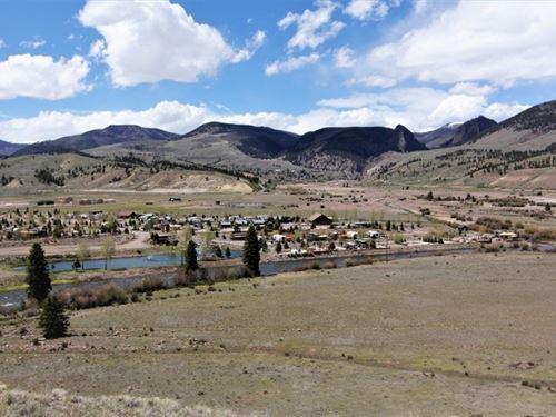 Rivers Edge Estates, Lot 2 : Creede : Mineral County : Colorado