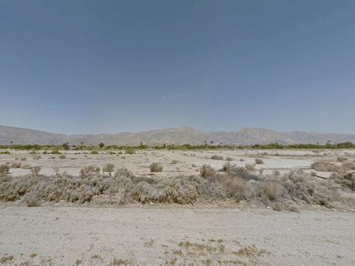 4.6 Acre Multi Purpose Land : Borrego Springs : San Diego County : California