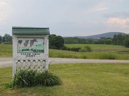 Absolute- Farm Near Smith Mtn Lake : Penhook : Franklin County : Virginia