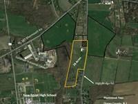 28 Acre Farm And 2-Family Farmhouse : New Egypt : Ocean County : New Jersey