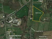 38 Acres Farmland In New Egypt : New Egypt : Ocean County : New Jersey