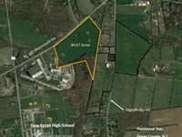 40.67 Acres Of Open Farmland : New Egypt : Ocean County : New Jersey