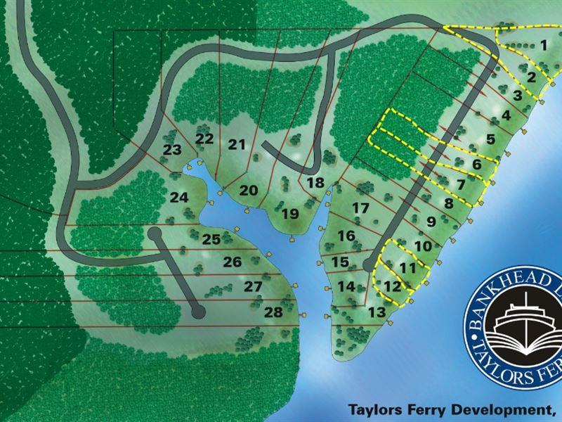 6 Waterfront Lots Wholesale : Parish : Walker County : Alabama