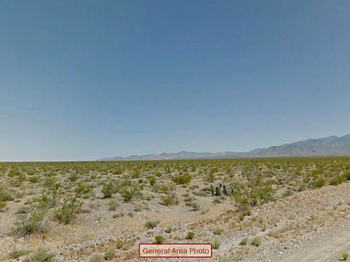 Open Rural Residential Lot : Charleston View : Inyo County : California