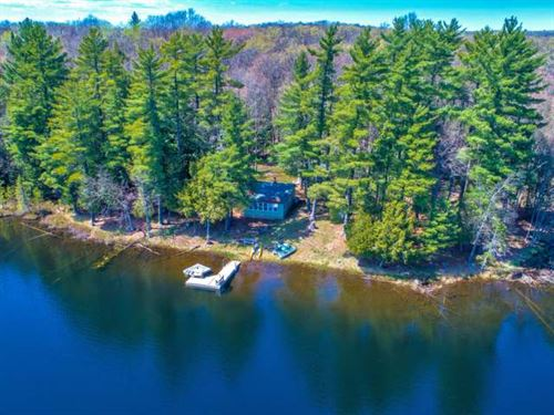 Cozy Little Cabin In The Woods : Winchester : Vilas County : Wisconsin