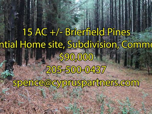 Brierfield Pines : Brierfield : Bibb County : Alabama