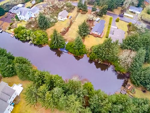 Canal Front Lot Near Beach & Ocean : Ocean Shores : Grays Harbor County : Washington