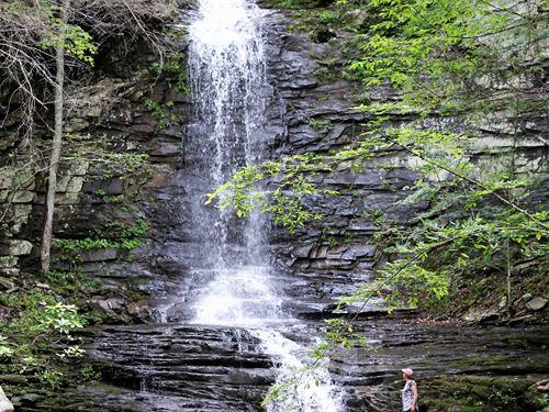 Stunning Natural Waterfall : Soddy Daisy : Hamilton County : Tennessee