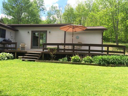House In Amity Ny 5682 Delong Road : Amity : Allegany County : New York