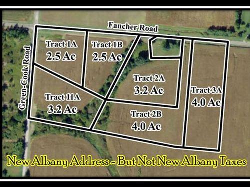 4 Acres Overlooking Creek : New Albany : Delaware County : Ohio