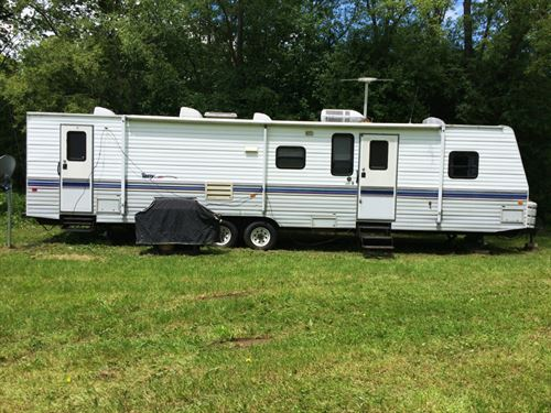 150 Ac Hunting Land Travel Trailer : Andover : Allegany County : New York