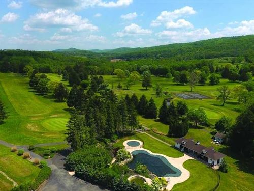Harkers Hollow Golf Course : Phillipsburg : Warren County : New Jersey