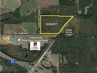 50 Acres Near Poarch Creek Casino : Quincy : Gadsden County : Florida