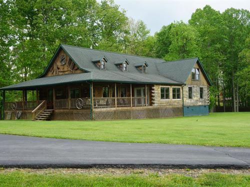 3 Beautiful Homes Privately Nestled : Valley Fork : Clay County : West Virginia