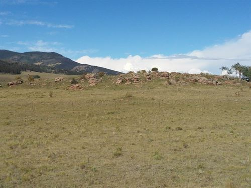 Acreage With A Slight Slope : Canon City : Fremont County : Colorado